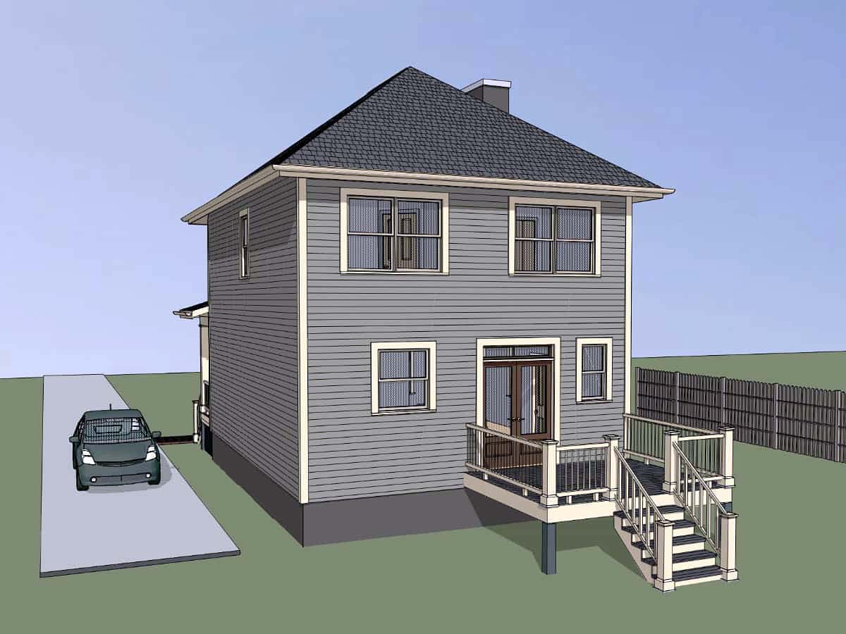 Bungalow House Plan 72732 with 3 Beds, 3 Baths Picture 1