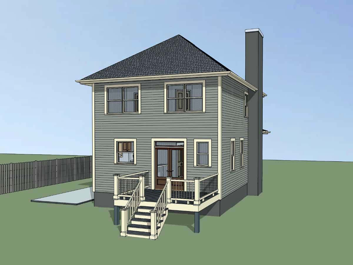 Bungalow House Plan 72732 with 3 Beds, 3 Baths Picture 2