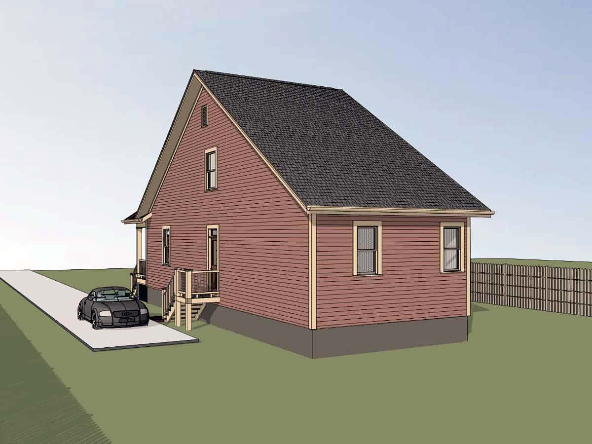 Bungalow House Plan 72733 with 3 Beds, 2 Baths Picture 1