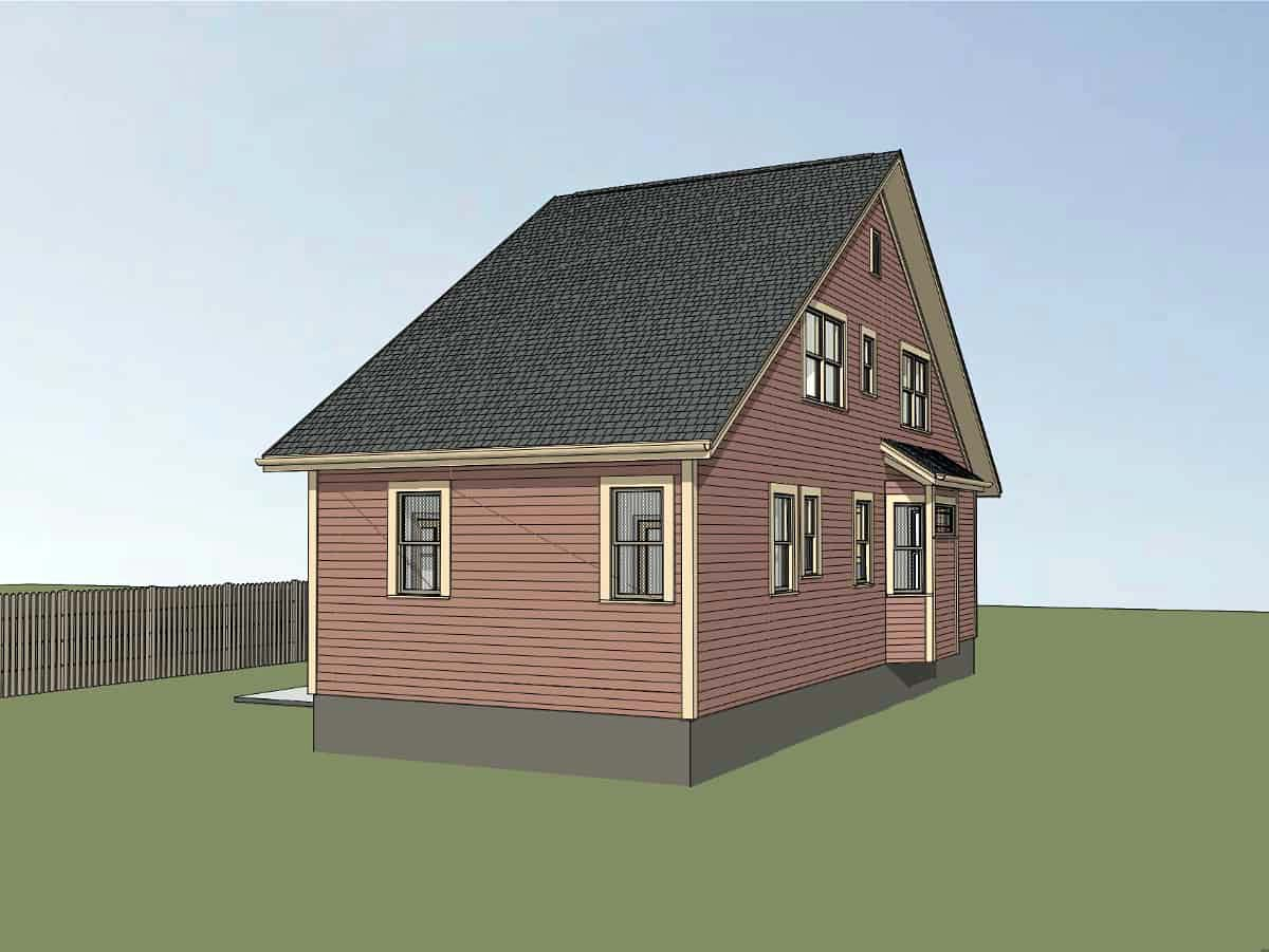 Bungalow House Plan 72733 with 3 Beds, 2 Baths Picture 2