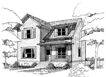 Bungalow House Plan 72735 Elevation