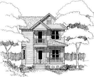 Bungalow House Plan 72737 Elevation