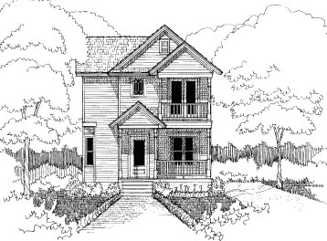 Bungalow House Plan 72739 Elevation