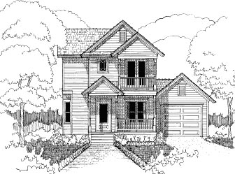 Bungalow House Plan 72740 Elevation