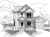 Plan Number 72740 - 1372 Square Feet