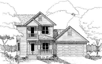 Bungalow House Plan 72741 Elevation