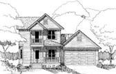 Plan Number 72741 - 1372 Square Feet
