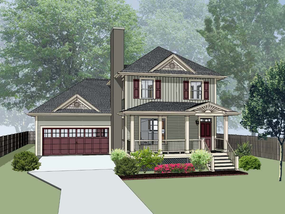 Bungalow House Plan 72746 Elevation