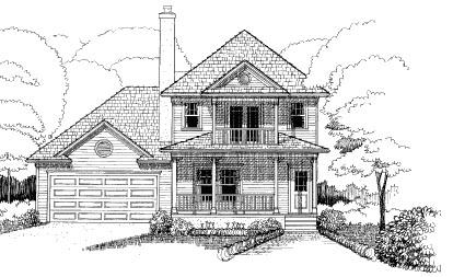 Bungalow House Plan 72747 Elevation