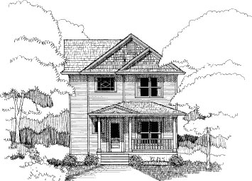 Bungalow House Plan 72748 Elevation