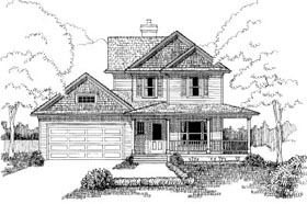 Bungalow House Plan 72749 Elevation