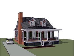 Bungalow House Plan 72750 Elevation