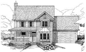 Bungalow House Plan 72754 Elevation