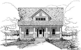 Bungalow House Plan 72756 Elevation