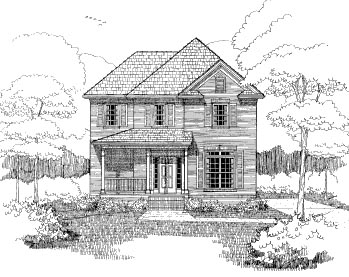 Bungalow House Plan 72761 Elevation