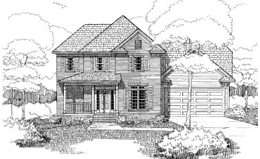 Bungalow House Plan 72766 Elevation