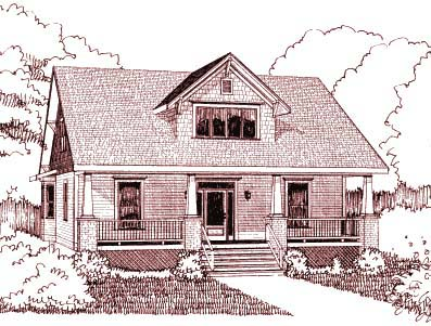 Country House Plan 72768 Elevation