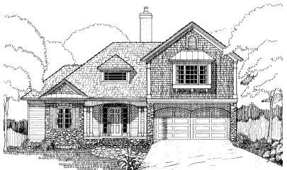 Bungalow House Plan 72770 Elevation