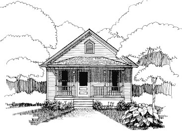 Bungalow House Plan 72772 Elevation