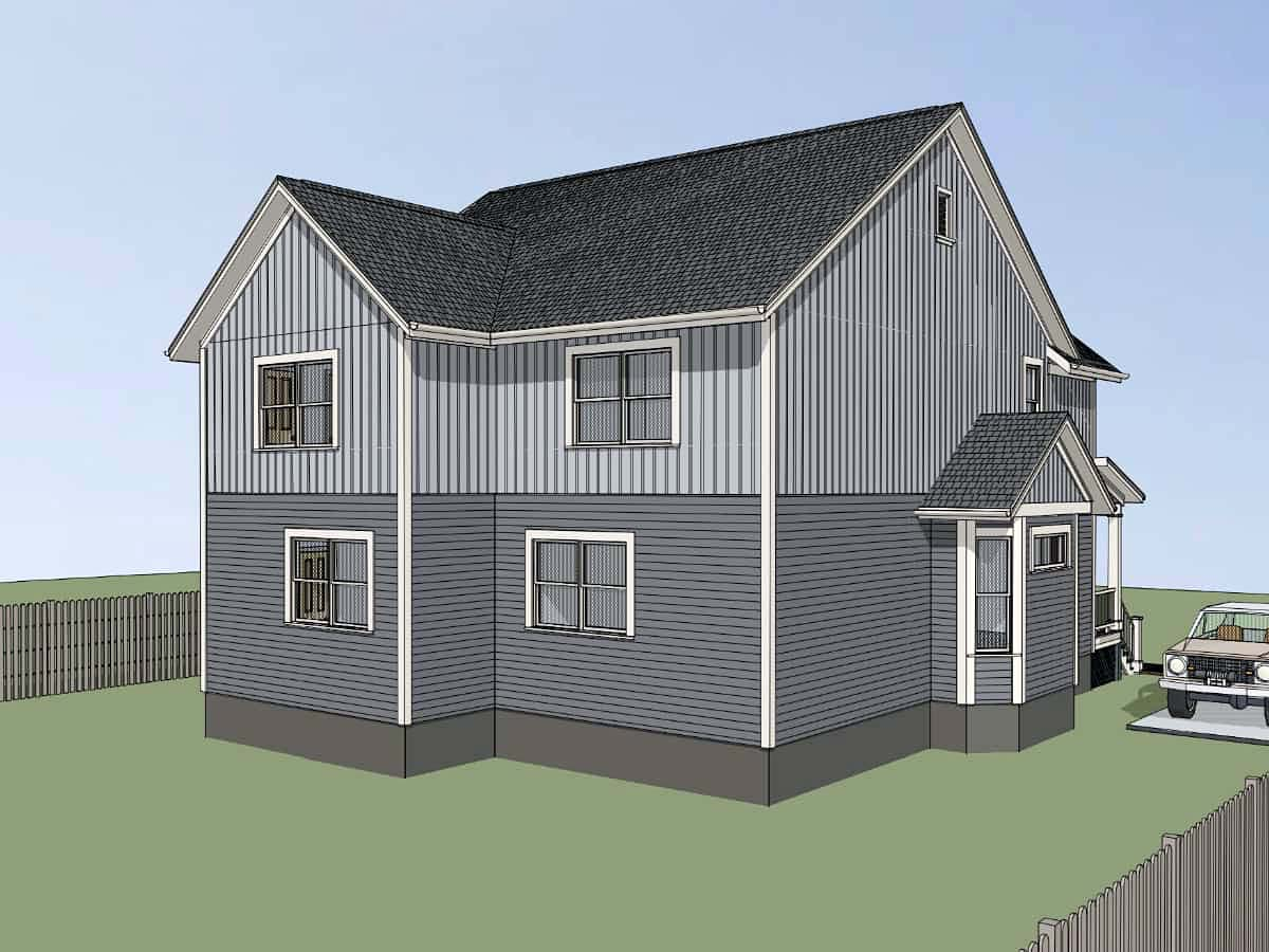 Bungalow Multi-Family Plan 72778 with 6 Beds, 4 Baths Picture 2