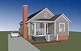 Plan Number 72795 - 1184 Square Feet