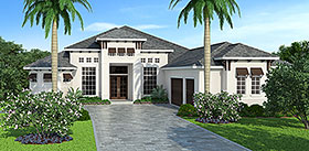 Plan Number 72806 - 3489 Square Feet