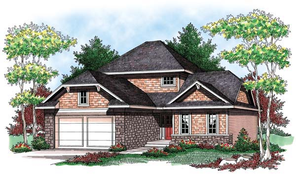 Country Craftsman House Plan 72901 Elevation