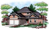 Plan Number 72901 - 1610 Square Feet