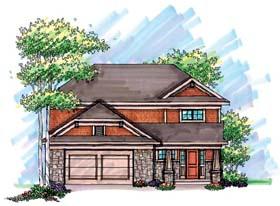 Craftsman House Plan 72902 Elevation
