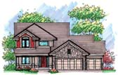 Plan Number 72907 - 2261 Square Feet