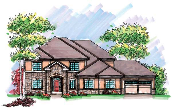 European Mediterranean House Plan 72911 Elevation