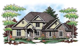 Country European House Plan 72913 Elevation