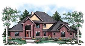 Traditional House Plan 72914 Elevation