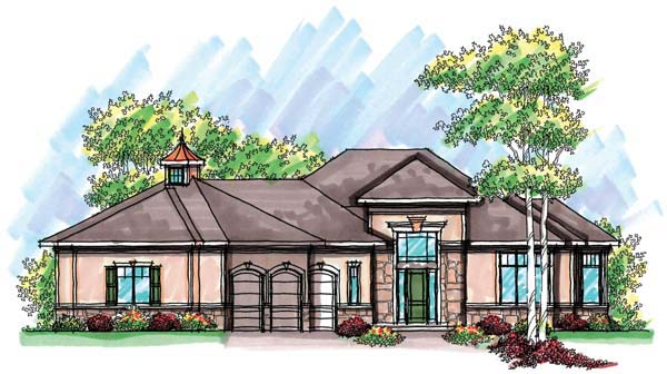 Ranch House Plan 72915 Elevation