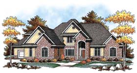 Country European House Plan 72916 Elevation