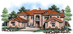 Coastal Mediterranean House Plan 72919 Elevation