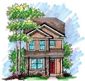 Rear entry garage house plans at for Rear entry garage house plans