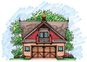 Garage Plan 72928 Elevation
