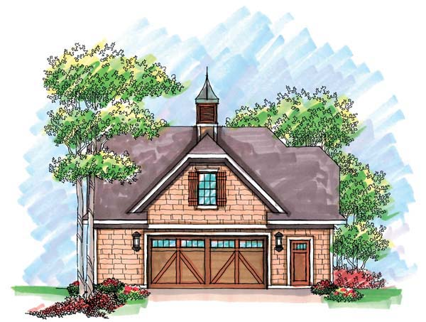Garage Plan 72929 Elevation
