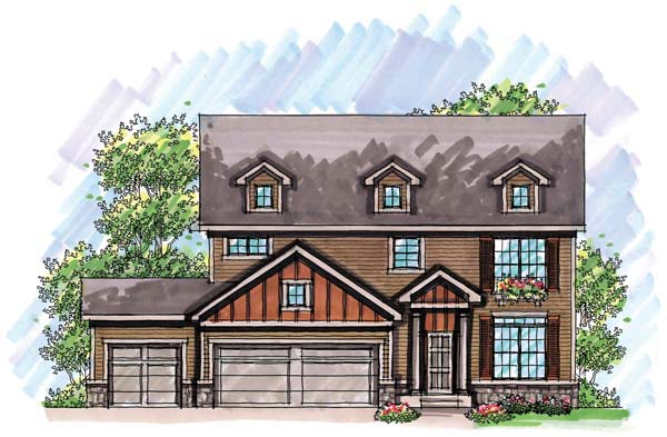 Country Farmhouse Traditional House Plan 72946 Elevation