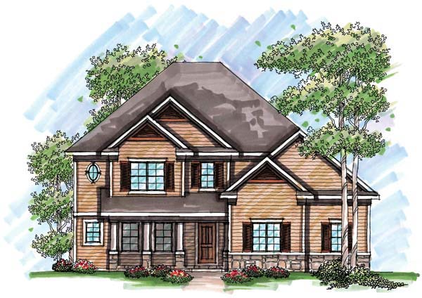 Country, Farmhouse, Traditional House Plan 72947 with 4 Beds, 4 Baths, 3 Car Garage Front Elevation