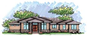 Ranch House Plan 72961 Elevation