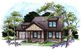 Bungalow , Craftsman House Plan 72978 with 3 Beds, 3 Baths, 2 Car Garage Elevation