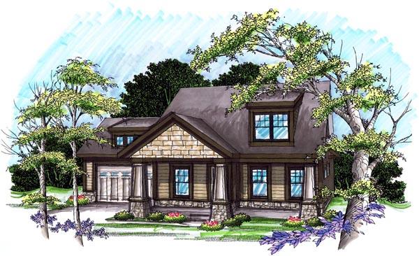 Bungalow Craftsman House Plan 72978 Elevation