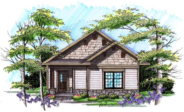 Ranch House Plan 72979 Elevation