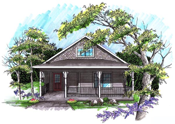 Ranch House Plan 72980 Elevation