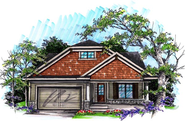 Ranch House Plan 72983 Elevation