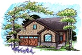Plan Number 72984 - 1613 Square Feet