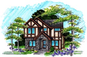 Traditional House Plan 72986 Elevation