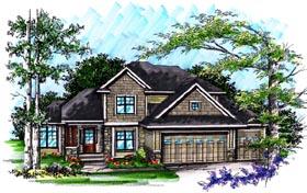 Craftsman Traditional House Plan 72990 Elevation